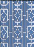 Empress Empire Lattice Wallpaper 2669-21743 By Deacon House for Brewster Fine Decor